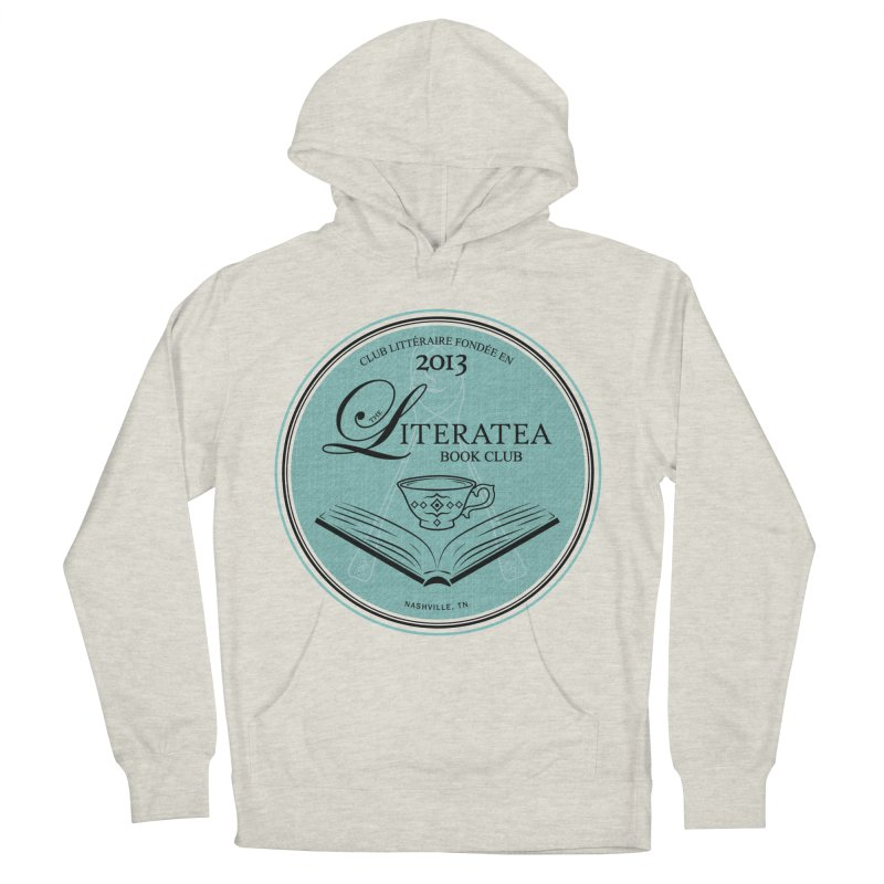 The Literatea Book Club Men's Pullover Hoody by cityscapecreative's Artist Shop
