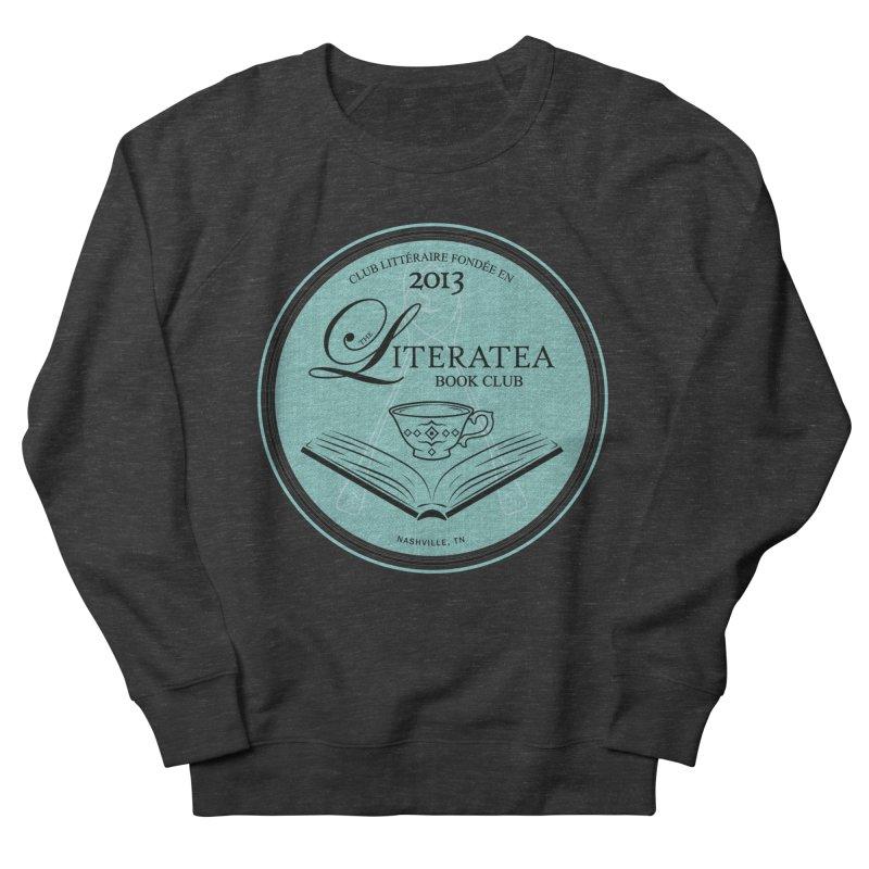 The Literatea Book Club Men's Sweatshirt by cityscapecreative's Artist Shop
