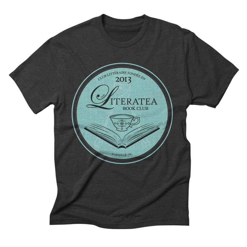 The Literatea Book Club Men's T-Shirt by cityscapecreative's Artist Shop