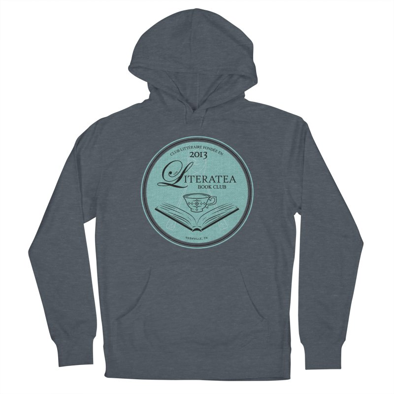 The Literatea Book Club Women's French Terry Pullover Hoody by cityscapecreative's Artist Shop