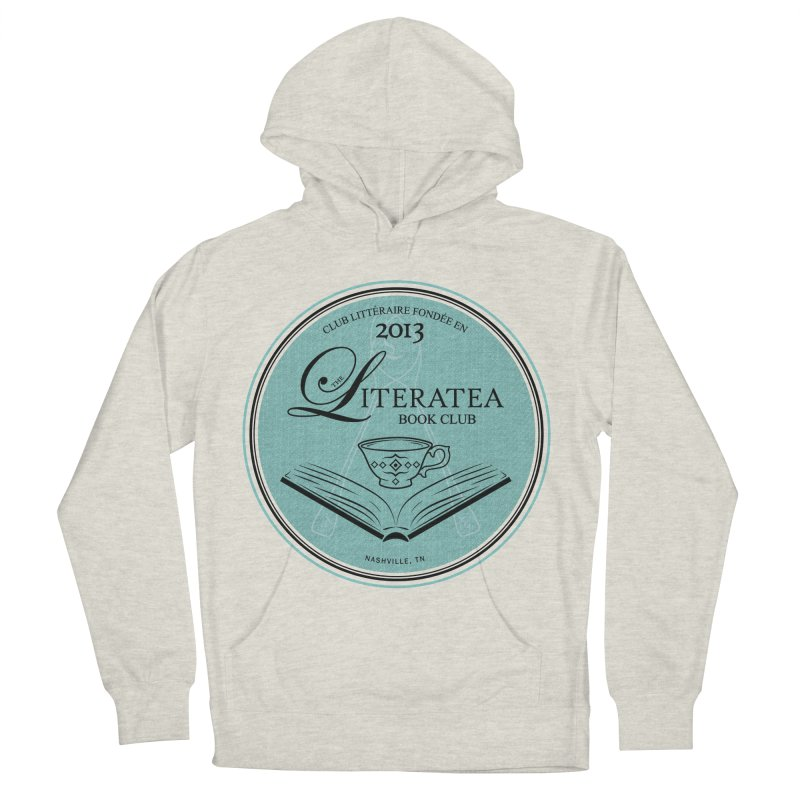 The Literatea Book Club Men's French Terry Pullover Hoody by cityscapecreative's Artist Shop
