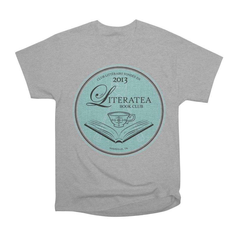 The Literatea Book Club Women's Heavyweight Unisex T-Shirt by cityscapecreative's Artist Shop