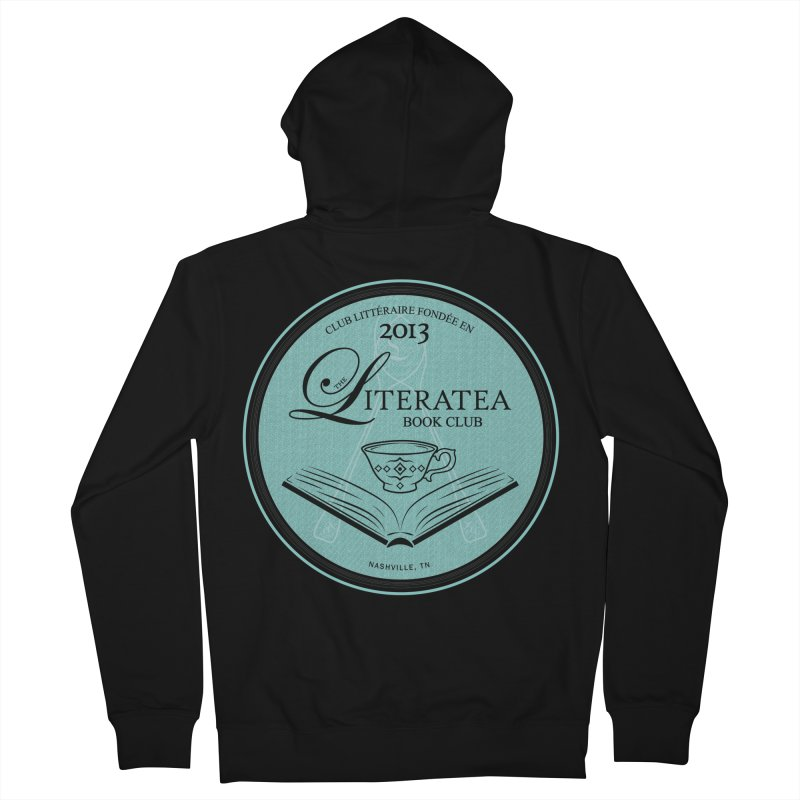The Literatea Book Club Women's Zip-Up Hoody by cityscapecreative's Artist Shop