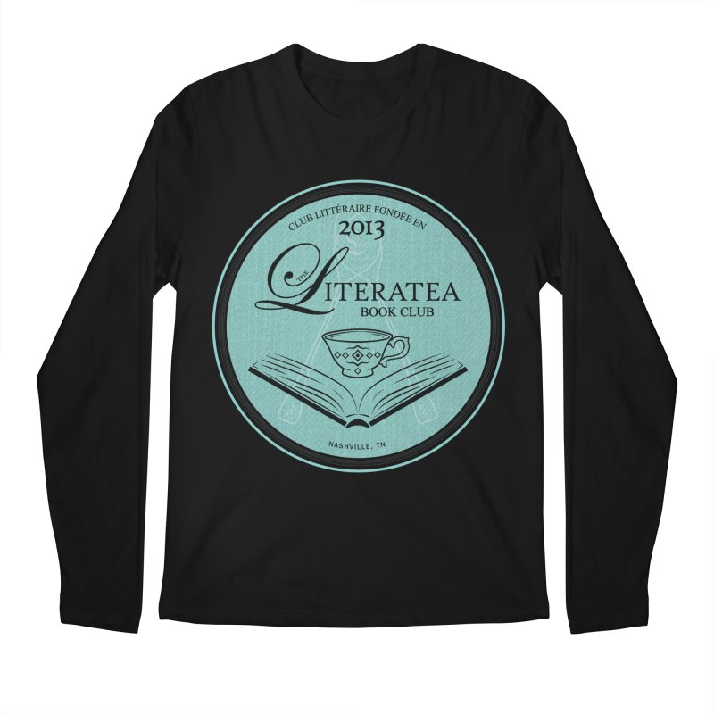 The Literatea Book Club Men's Regular Longsleeve T-Shirt by cityscapecreative's Artist Shop