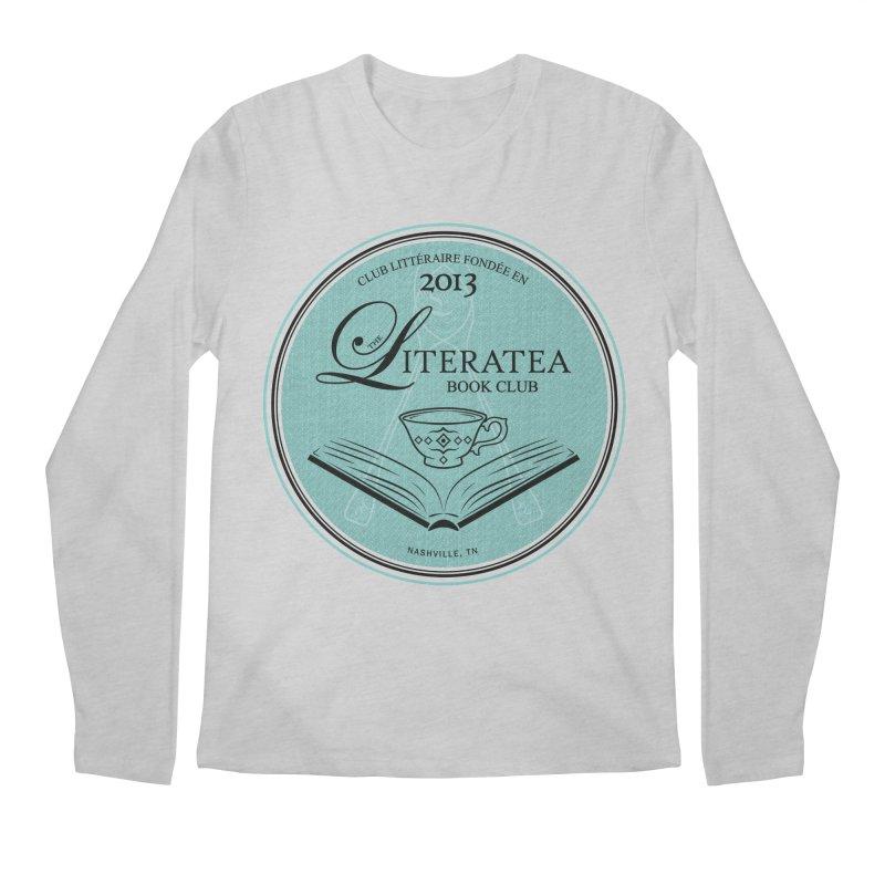 The Literatea Book Club Men's Regular Longsleeve T-Shirt by cityscapecreative's Artist Shop