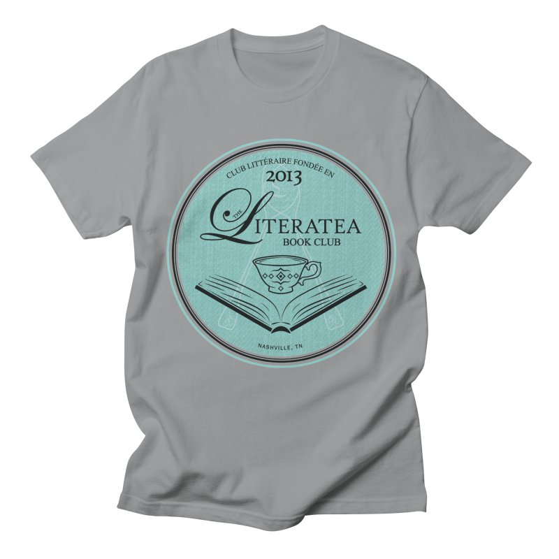 The Literatea Book Club Men's T-Shirt by cityscapecreative's Artist Shop