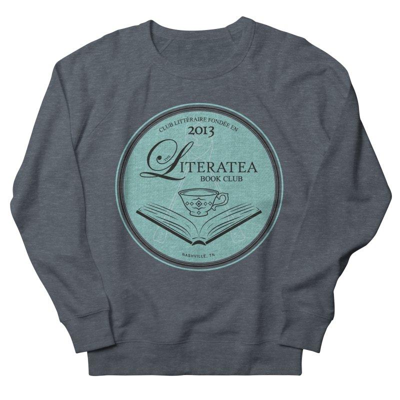 The Literatea Book Club Women's Sweatshirt by cityscapecreative's Artist Shop