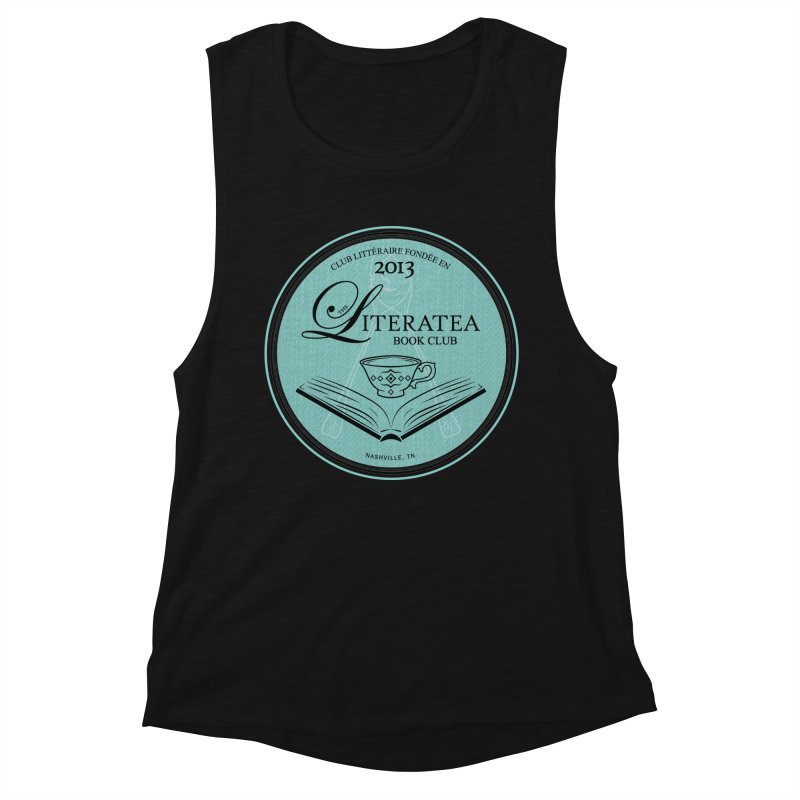 The Literatea Book Club Women's Tank by cityscapecreative's Artist Shop