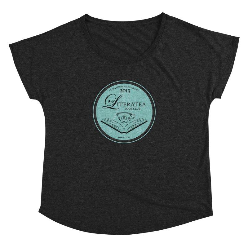 The Literatea Book Club Women's Scoop Neck by cityscapecreative's Artist Shop