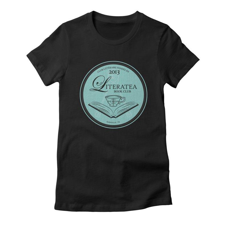 The Literatea Book Club Women's T-Shirt by cityscapecreative's Artist Shop