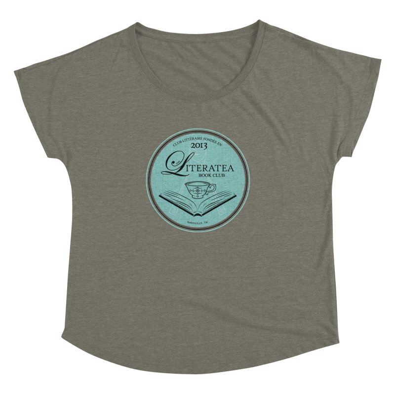 The Literatea Book Club Women's Dolman Scoop Neck by cityscapecreative's Artist Shop