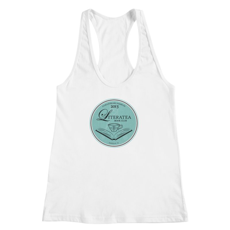 The Literatea Book Club Women's Racerback Tank by cityscapecreative's Artist Shop