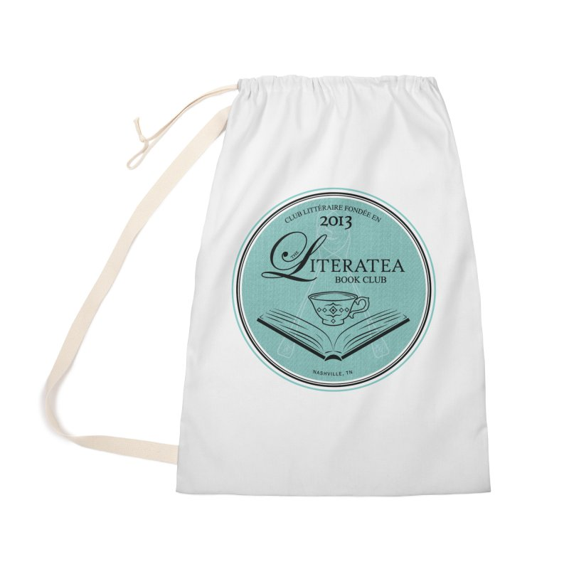 The Literatea Book Club Accessories Bag by cityscapecreative's Artist Shop