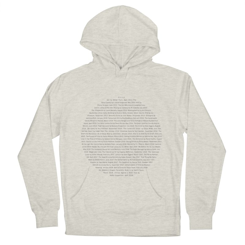 Five year Book Club Anniversary Men's Pullover Hoody by cityscapecreative's Artist Shop