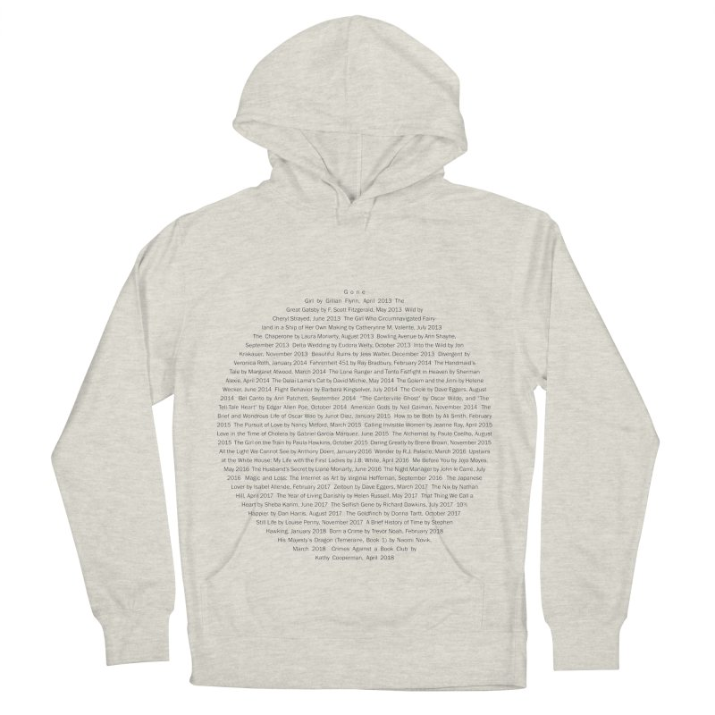 Five year Book Club Anniversary Women's French Terry Pullover Hoody by cityscapecreative's Artist Shop