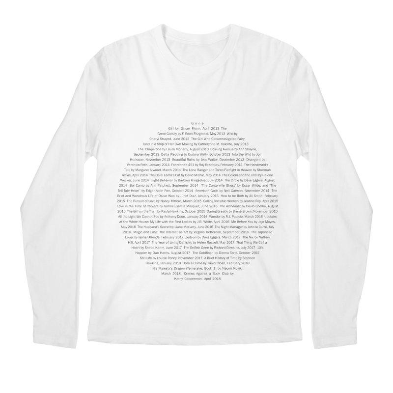 Five year Book Club Anniversary Men's Regular Longsleeve T-Shirt by cityscapecreative's Artist Shop