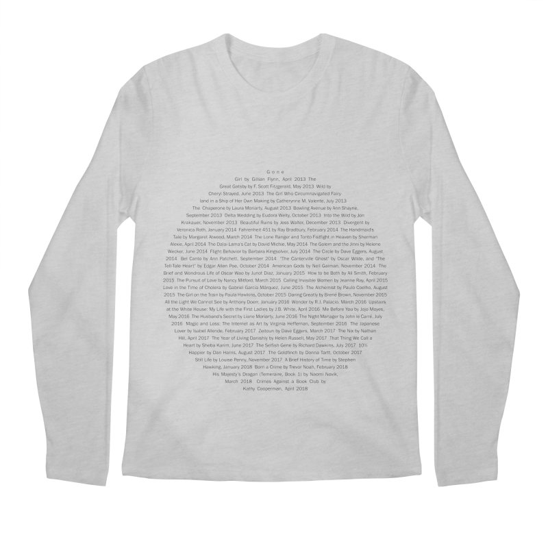 Five year Book Club Anniversary Men's Regular Longsleeve T-Shirt by cityscapecreative's Artist Shop