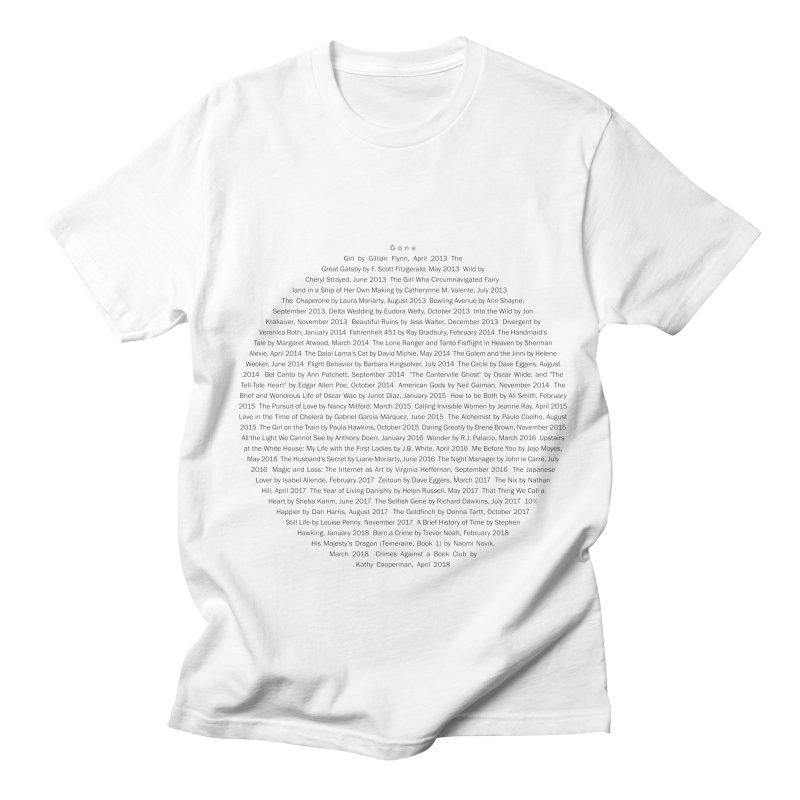 Five year Book Club Anniversary Men's Regular T-Shirt by cityscapecreative's Artist Shop