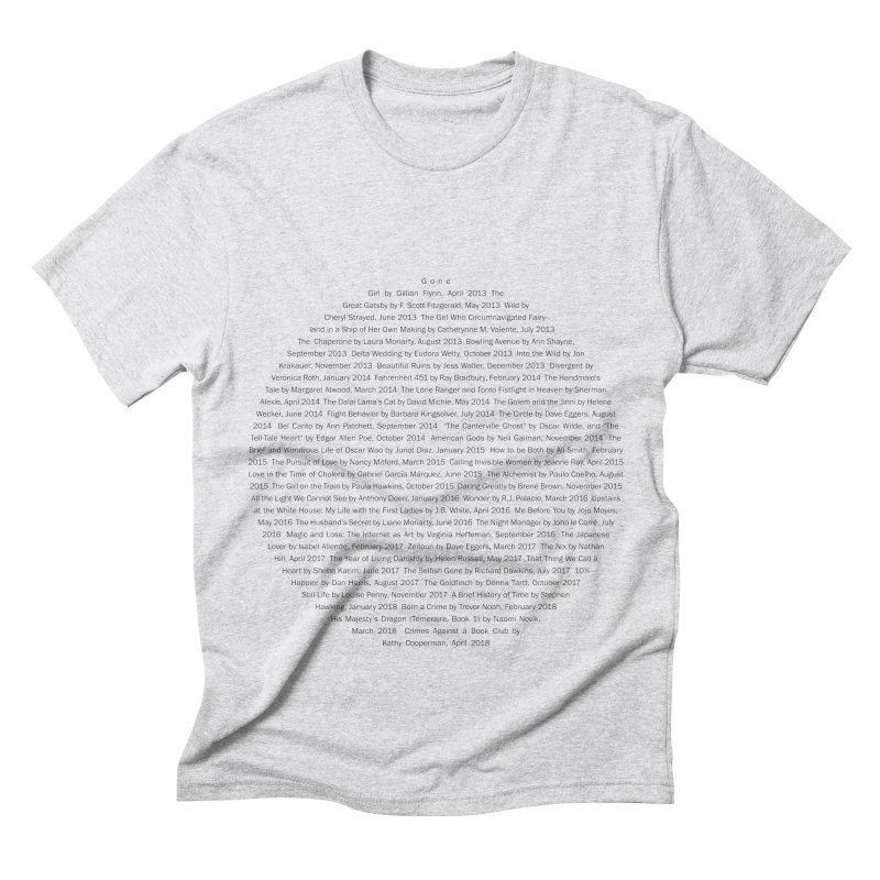 Five year Book Club Anniversary Men's Triblend T-Shirt by cityscapecreative's Artist Shop