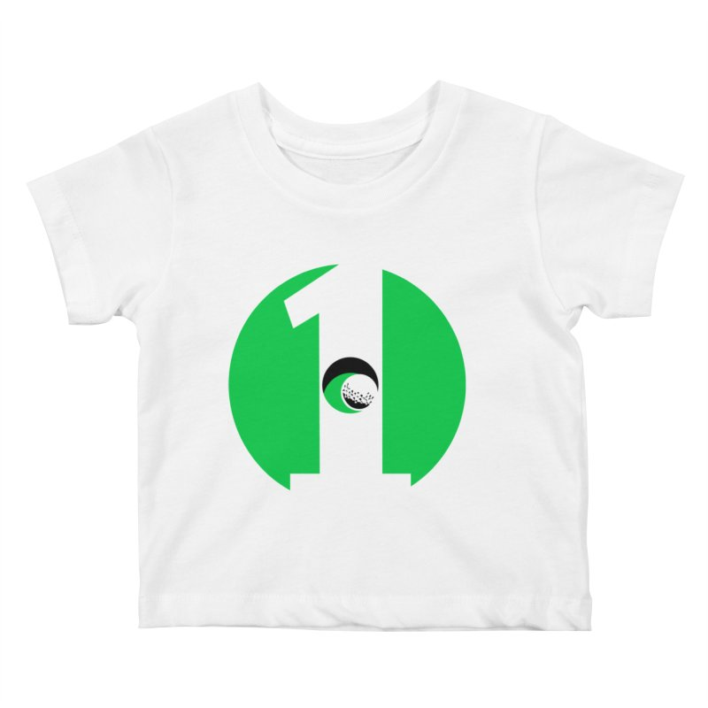 hole in one Kids Baby T-Shirt by cityshirts's Artist Shop