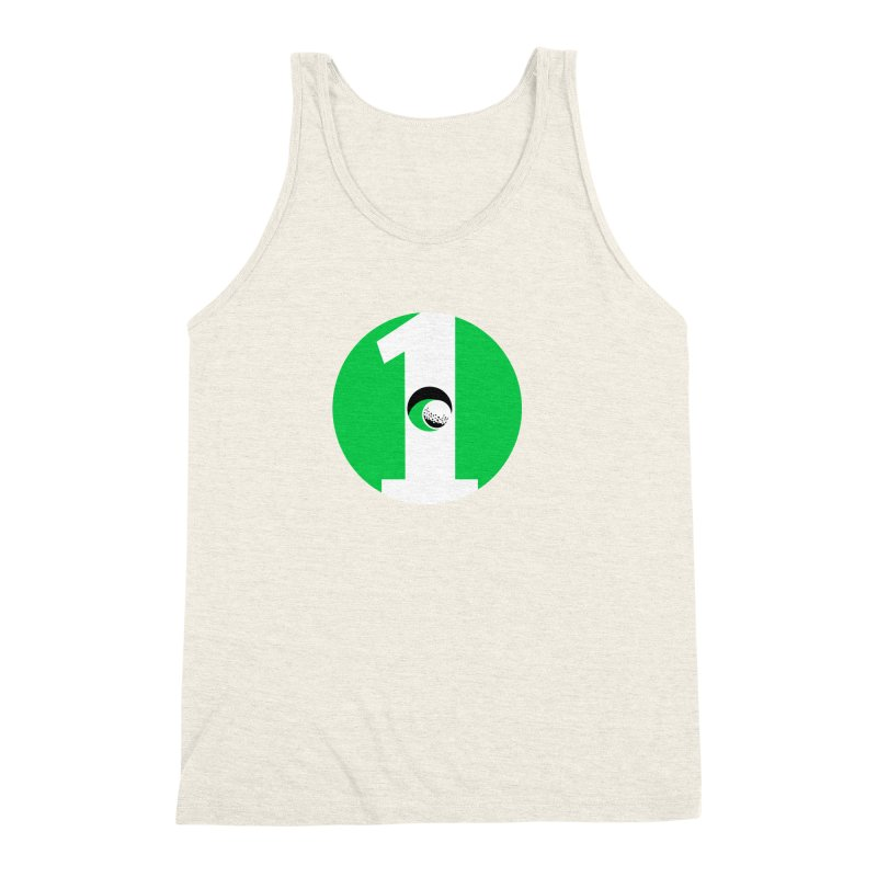 hole in one Men's Triblend Tank by cityshirts's Artist Shop
