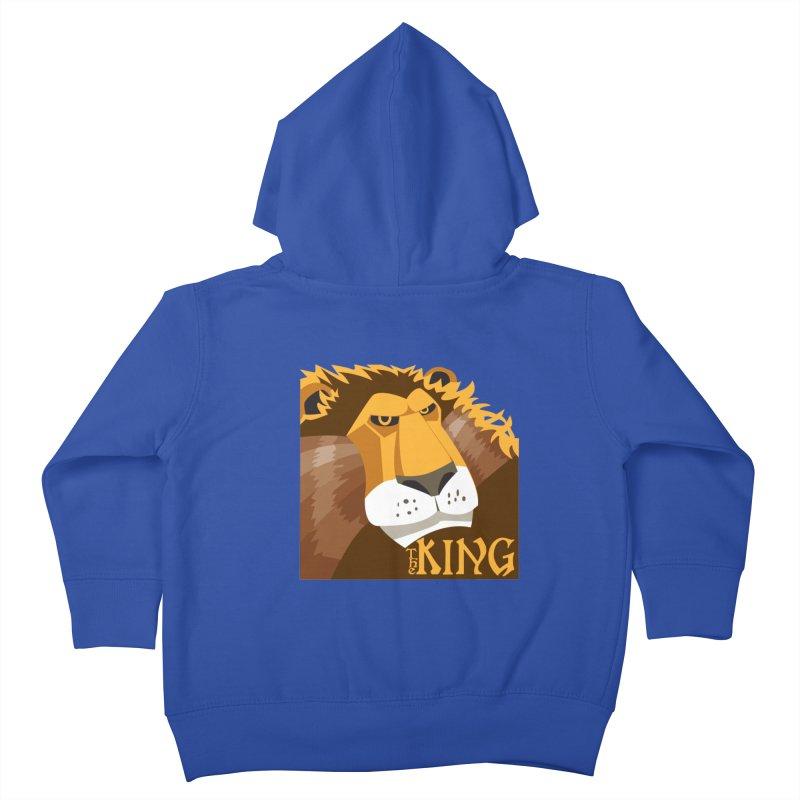 The King Kids Toddler Zip-Up Hoody by cityshirts's Artist Shop