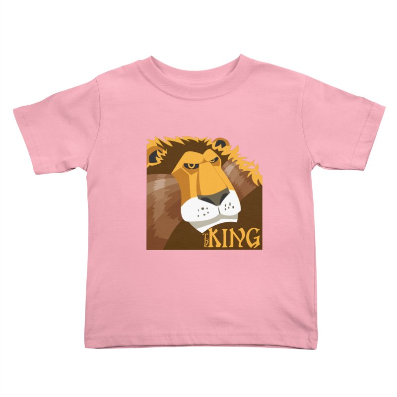 The King Kids Toddler T-Shirt by cityshirts's Artist Shop