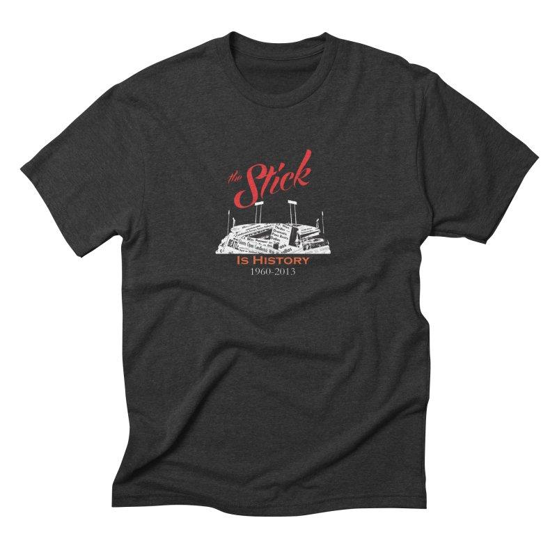 "Candlestick Park""The Stick"" Men's Triblend T-shirt by cityshirts's Artist Shop"