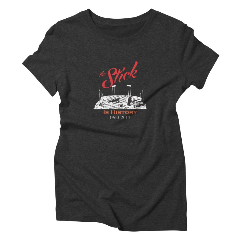 "Candlestick Park""The Stick"" Women's Triblend T-shirt by cityshirts's Artist Shop"