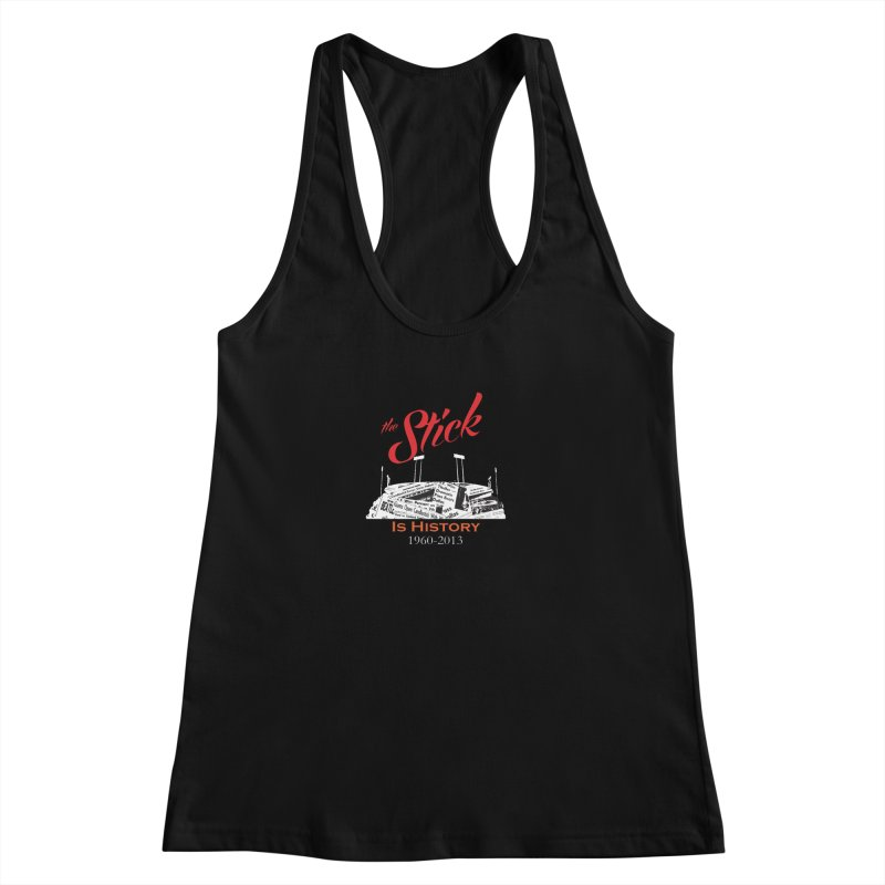 "Candlestick Park""The Stick"" Women's Racerback Tank by cityshirts's Artist Shop"