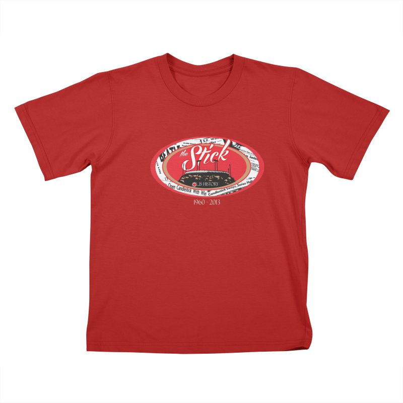 Candlestick Park version 1    by cityshirts's Artist Shop