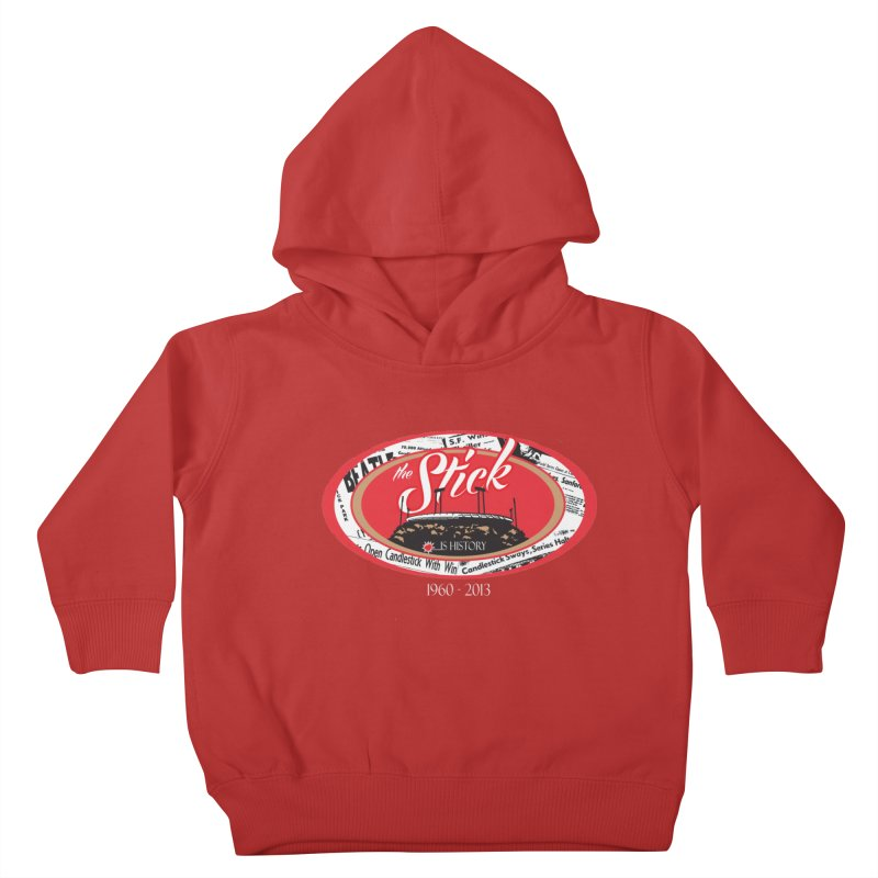 Candlestick Park version 1  Kids Toddler Pullover Hoody by cityshirts's Artist Shop
