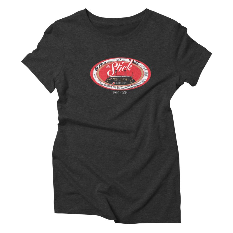 Candlestick Park version 1  Women's Triblend T-shirt by cityshirts's Artist Shop