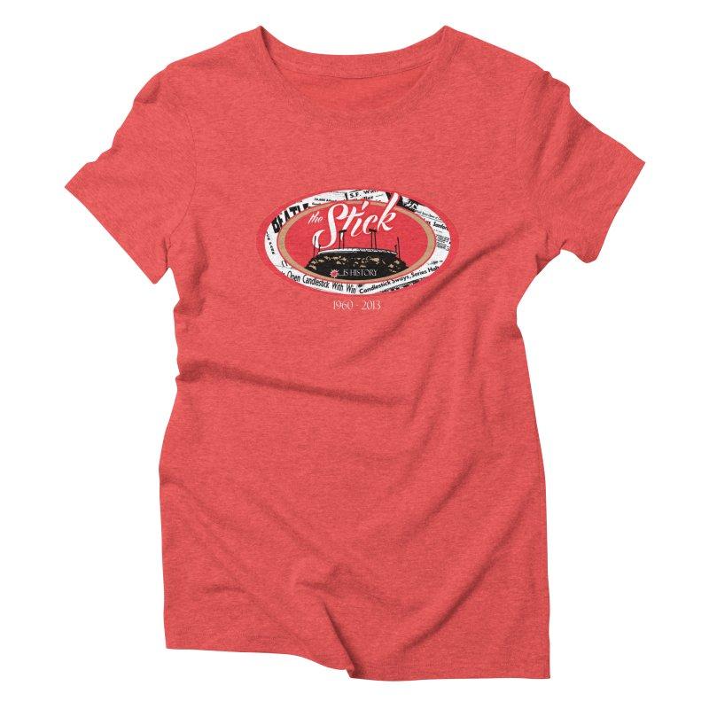 Candlestick Park version 1  Women's Triblend T-shirt by cityshirts's Artist Shop