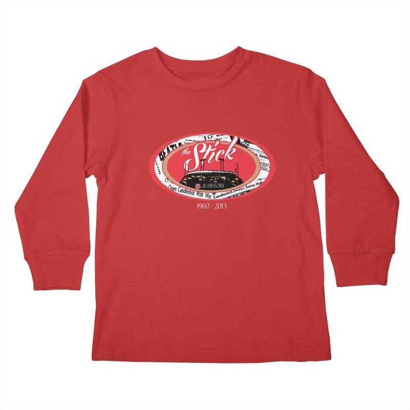 Candlestick Park version 1  Kids Longsleeve T-Shirt by cityshirts's Artist Shop