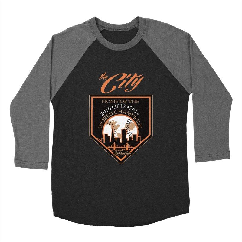 The City San Francisco Baseball World Champions Men's Baseball Triblend T-Shirt by cityshirts's Artist Shop