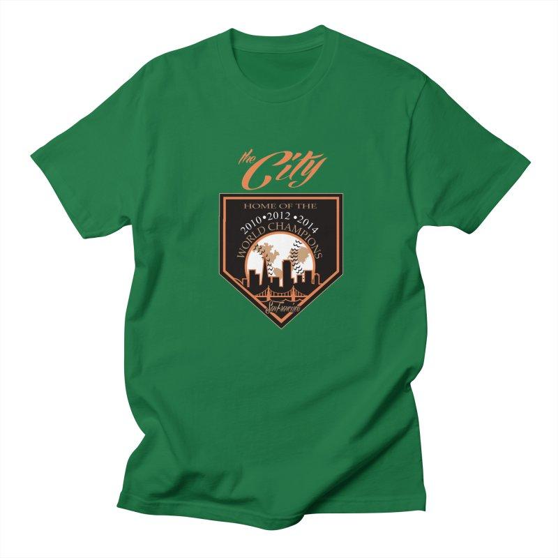 The City San Francisco Baseball World Champions Men's T-shirt by cityshirts's Artist Shop