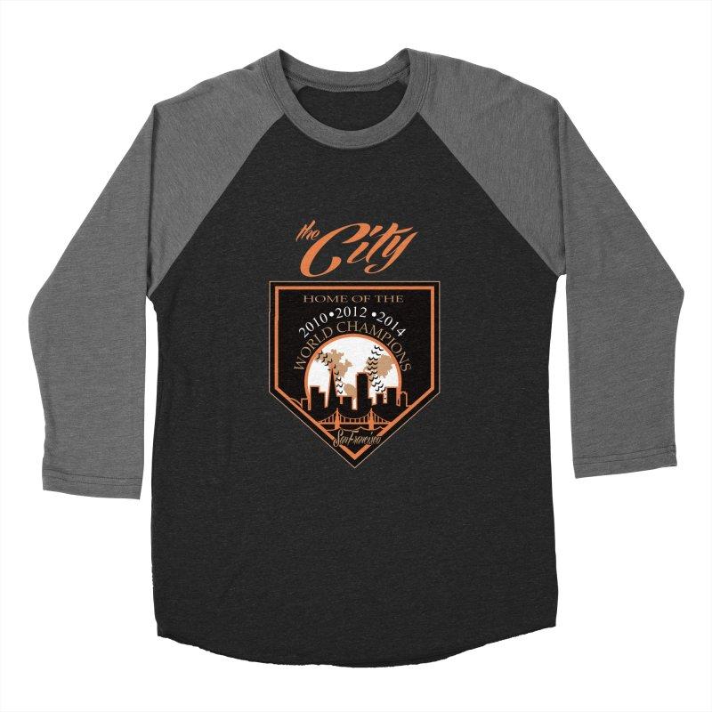 The City San Francisco Baseball World Champions Women's Baseball Triblend T-Shirt by cityshirts's Artist Shop
