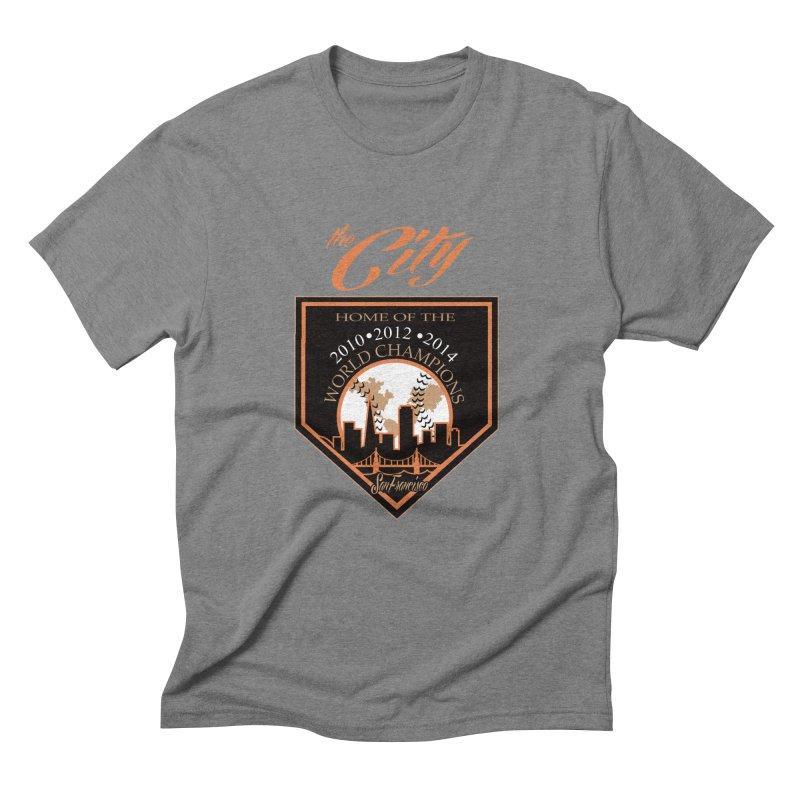 The City San Francisco Baseball World Champions Men's Triblend T-shirt by cityshirts's Artist Shop