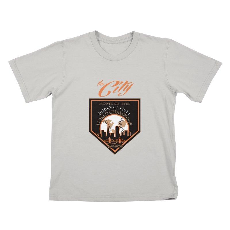 The City San Francisco Baseball World Champions Kids T-shirt by cityshirts's Artist Shop