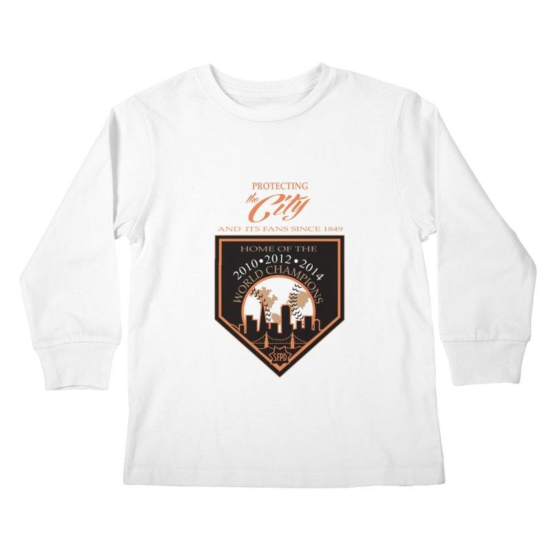 Kids Longsleeve T-Shirt by cityshirts's Artist Shop