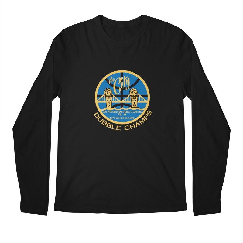 Dubble Champs Men's Longsleeve T-Shirt by cityshirts's Artist Shop