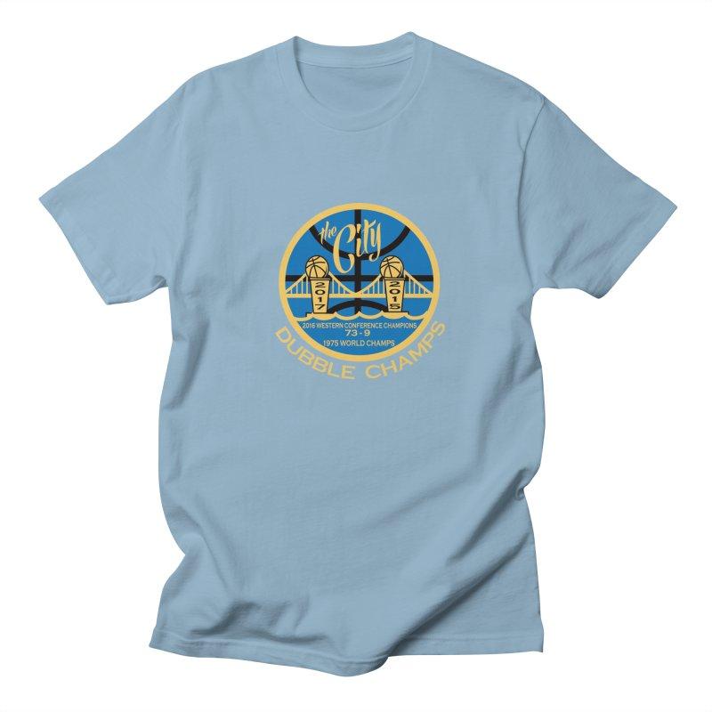 Dubble Champs Men's T-shirt by cityshirts's Artist Shop