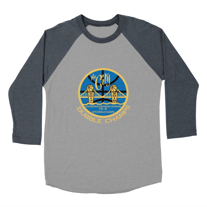 Dubble Champs Women's Baseball Triblend T-Shirt by cityshirts's Artist Shop