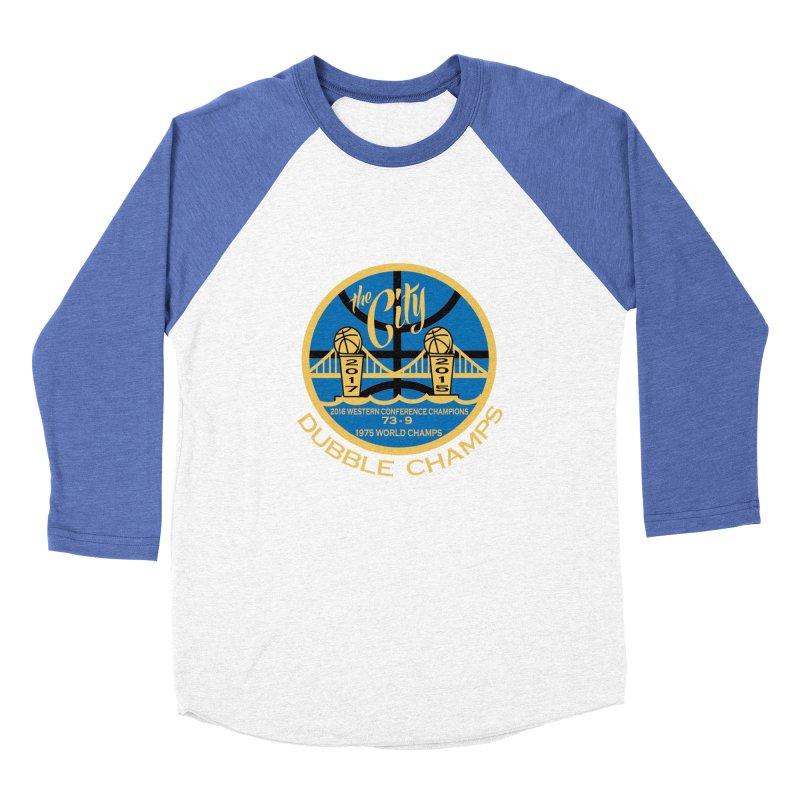 Dubble Champs Men's Baseball Triblend T-Shirt by cityshirts's Artist Shop