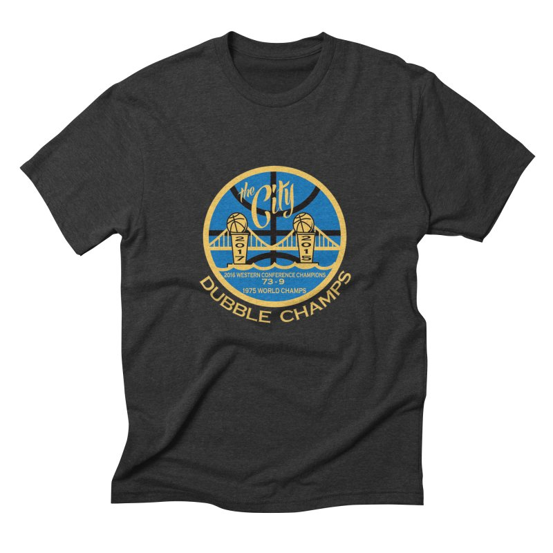 Dubble Champs Men's Triblend T-shirt by cityshirts's Artist Shop