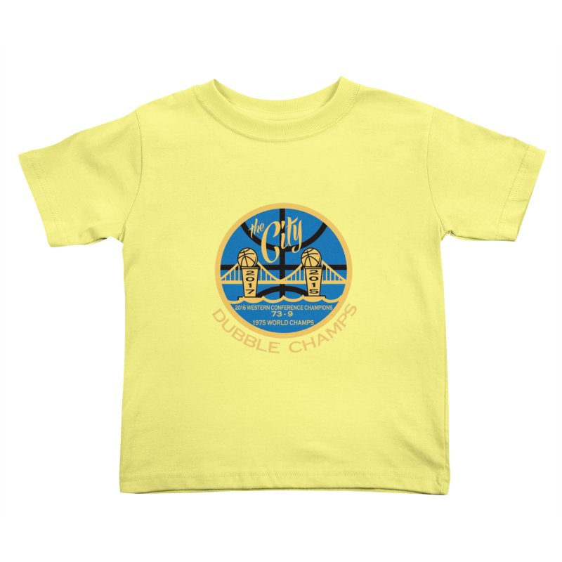 Dubble Champs Kids Toddler T-Shirt by cityshirts's Artist Shop