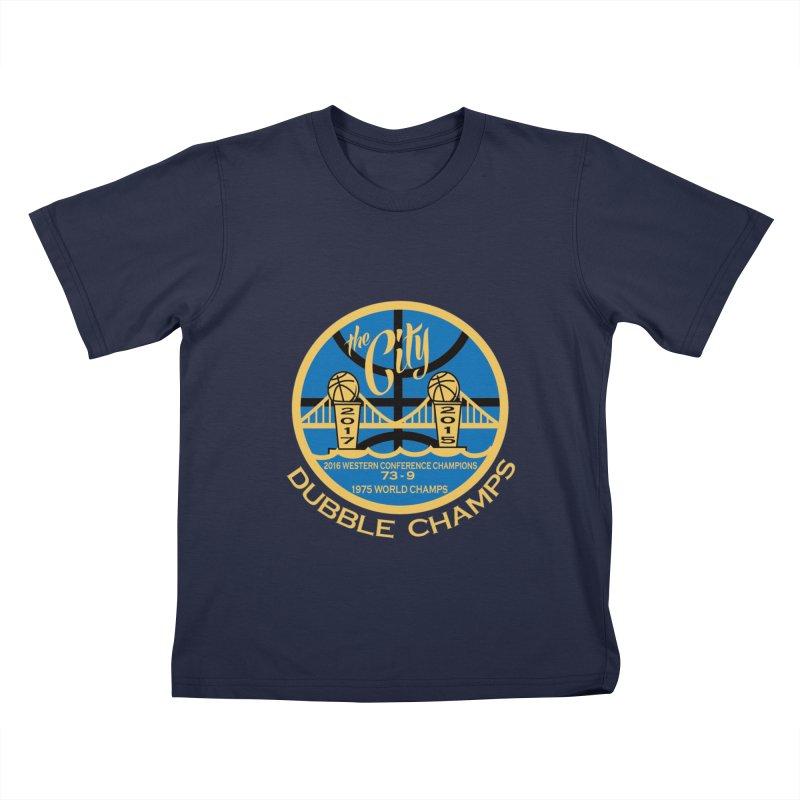 Dubble Champs Kids T-shirt by cityshirts's Artist Shop