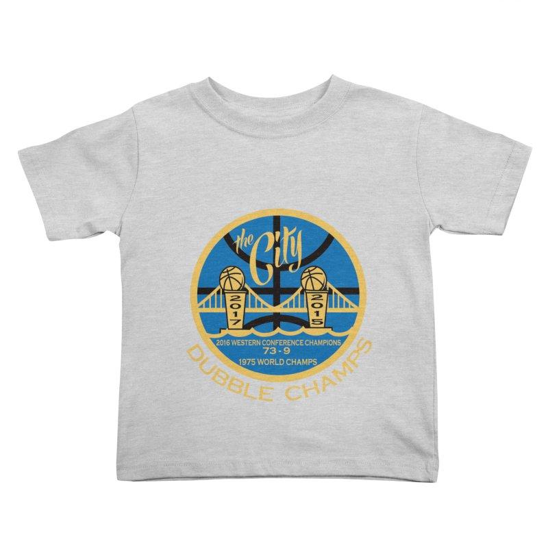 Dubble Champs Kids Toddler T-Shirt by cityshirts's Artist Shop