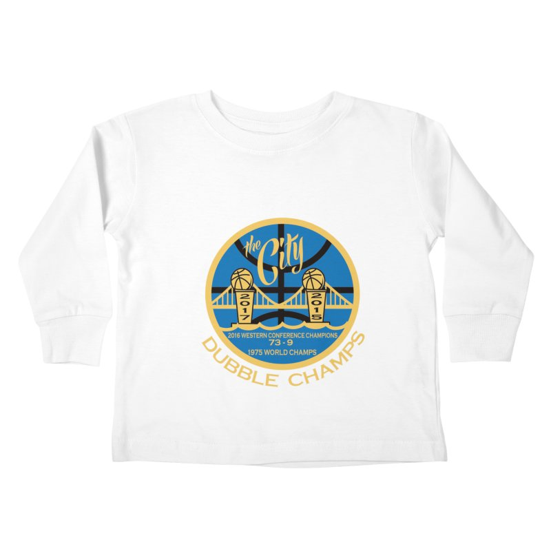 Dubble Champs Kids Toddler Longsleeve T-Shirt by cityshirts's Artist Shop